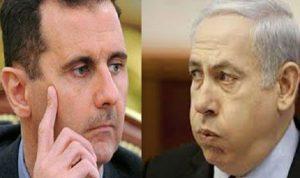 مفاوضات بين الأسد و نتانياهو!