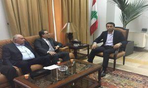 محافظ بيروت بحث مع شقير والمعبي مشروع السوق المركزي للخضار والفاكهة