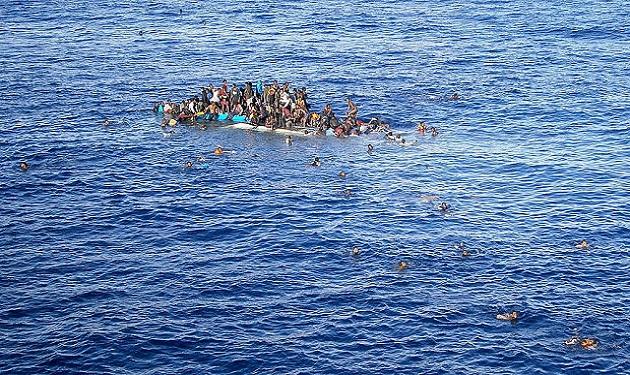 أكثر من 100 مفقود قبالة سواحل ليبيا بعد غرق قارب