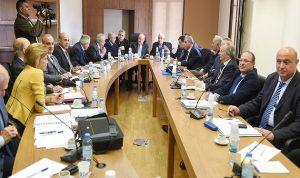 لجنة الأشغال بحثت استراتيجية قطاع المياه