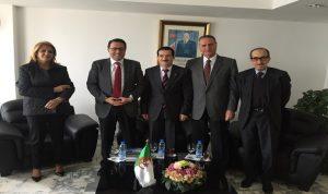الوفد الاقتصادي اللبناني بحث زيادة الصادرات مع وزير التجارة الجزائري