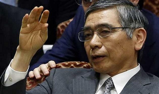 هاروهيكو كوردا محافظ بنك اليابان المركزي