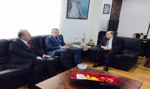 سبل التعاون في مجالات الطاقة بين لبنان وبيلاروسيا