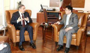 وزير السياحة بحث سبل التعاون مع سفير الصين