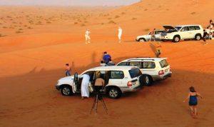 ازدهار سياحة الصحراء في الخليج