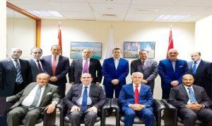 انتخاب الهيئة الادارية لمجلس العمل اللبناني في الامارات