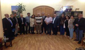 وفد من كاتالونيا بحث مع رئيس بلدية طرابلس تعزيز العلاقات الاقتصادية