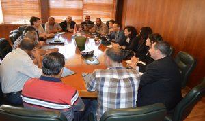 وفد من البنك الدولي بحث زراعة البطاطا وإدارة النفايات الصلبة في غرفة طرابلس