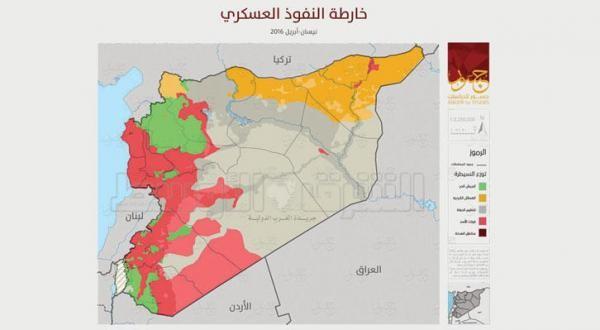 syria map control