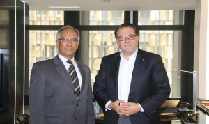 شقير بحث مع سفير باكستان مضاعفة التبادل بين البلدين