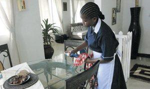 اعتصام لنقابة مكاتب استقدام عاملات المنازل