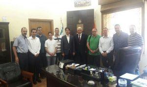 """رئيس بلدية طرابلس استقبل وفدا تركيا وبحث ملف النفايات مع """"لافاجيت"""""""
