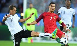 رونالدو يهدر ركلة جزاء والبرتغال تتعادل سلبياً مع النمسا