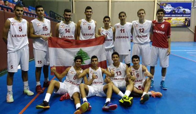 lebanon-nt-u18-egypt-celebrating