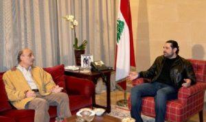 أربعة محاور في لقاء الحريري – جعجع