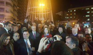 ريفي في إضاءة شجرة ميلاد في طرابلس: وحدتنا تحمي لبنان