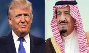اتصال بين ترامب وسلمان…وهذا ما تم الاتفاق عليه