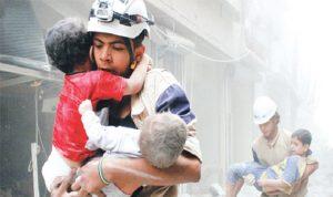 """""""الخوذ البيضاء"""" فاز بالأوسكار… هذا ما قاله المسعفون تحت القصف في سوريا"""
