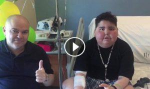 بالصور والفيديو… هذا ما قاله الطفل مارون قزي والمدرّب فؤاد ابو شقرا من المستشفى