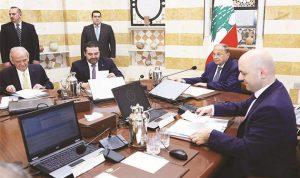 """""""ملف الكهرباء"""" نجم جلسة مجلس الوزراء"""