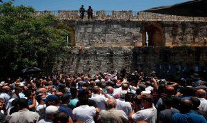 رسائل الاعتراض من الحرم القدسي إلى لبنان
