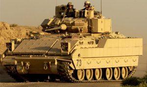 """الـ""""Bradley"""" الأميركية تصل الى الجيش اليوم!"""