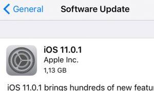 تحديث من آبل لإصلاح عيب كبير في iOS 11