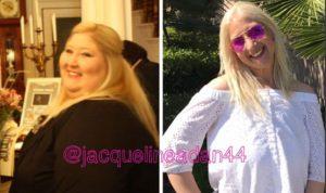 بالصور… ضحك الغرباء جعلها تفقد نصف وزنها!