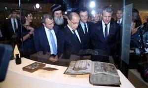 ماكرون: حماية مسيحيي الشرق لا تعني الدفاع عن الأسد