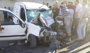 4 جرحى في حادث سير على أوتوستراد المنية الضنية