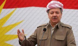 برزاني: استفتاء كردستان خطوة أولى لتقرير المصير