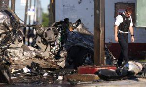 بالفيديو… مقتل ضابط أميركي بحادث سير مروّع يثير الغموض