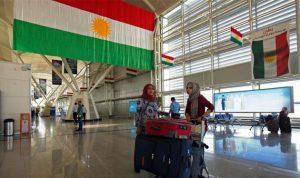 إستثناء الرحلات الإنسانية والعسكرية من قرار تعليق الطيران إلى كردستان