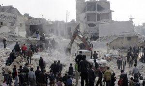 مقتل 28 مدنيا في ضربات جوية في ادلب