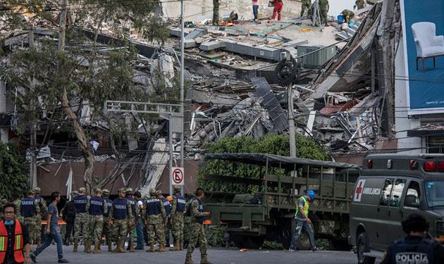 عدد قتلى زلزال المكسيك يتجاوز الـ230 والبحث عن ناجين مستمر!