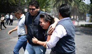 بالفيديو… اللحظات الاولى لزلزال المكسيك المدمّر