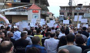 """مزيارة تنتفض… """"لترحيل السوريين وإعدام """"الوحش"""""""