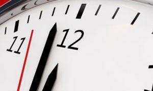 مذكرة بتأخير الساعة نهاية ت1 المقبل