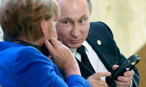 بيسكوف: المحادثات بين بوتين وميركل كانت شاملة