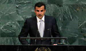 """أمير قطر يدعو لـ """"حوار غير مشروط"""""""