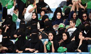 للمرة الأولى.. سعوديات في ملعب الملك فهد