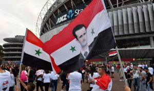 النظام السوري يروّج لنفسه