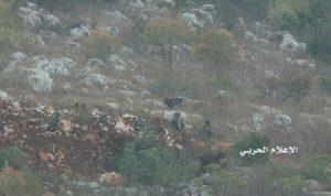 بالصور… جنود اسرائيليون يجتازون السياج التقني في ميس الجبل!