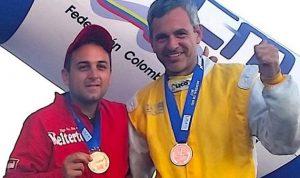 شاغوري احرز ميداليتين في بطولة العالم للزوارق السريعة في كولومبيا