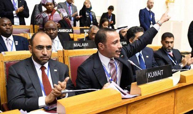 بالفيديو... رئيس مجلس الأمة الكويتي يطرد الوفد الإسرائيلي!