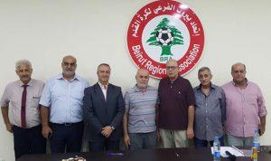 سبليني رئيسا للجنة التنفيذية لاتحاد بيروت الفرعي لكرة القدم