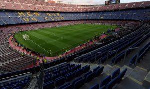 مباراة برشلونة ولاس بالماس من دون جمهور