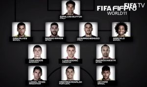 ريال مدريد يسيطر على تشكيلة أفضل لاعبي العالم