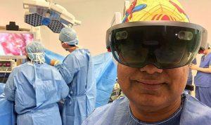 لأول مرة… عملية جراحية بإستخدام نظارات الواقع الإفتراضي
