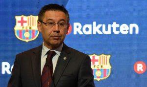 بيان هام من رئيس برشلونة بعد التطورات الأخيرة في كتالونيا